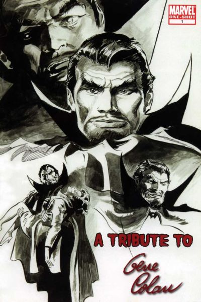 Tribute to Gene Colan comic books