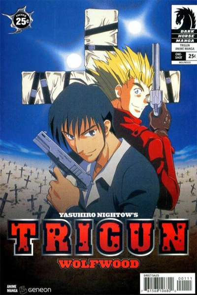 Trigun Anime Manga: Wolfwood comic books