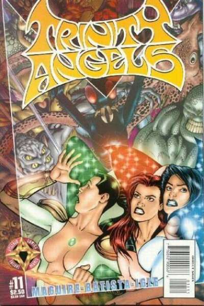 Trinity Angels #11 comic books - cover scans photos Trinity Angels #11 comic books - covers, picture gallery