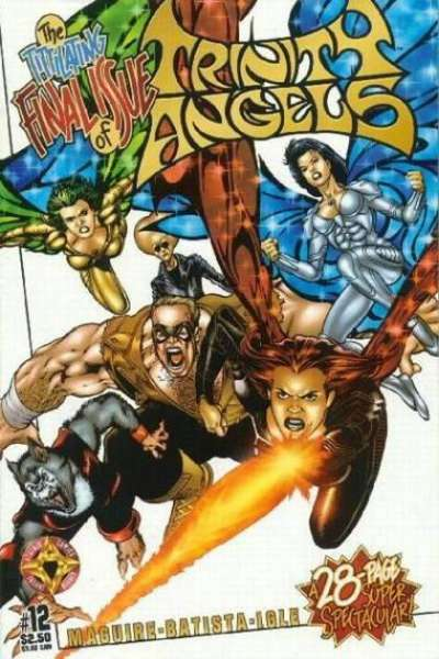 Trinity Angels #12 Comic Books - Covers, Scans, Photos  in Trinity Angels Comic Books - Covers, Scans, Gallery