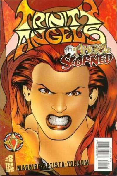 Trinity Angels #8 comic books - cover scans photos Trinity Angels #8 comic books - covers, picture gallery