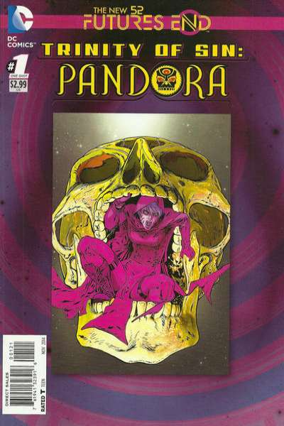 Trinity of Sin: Pandora: Futures End #1 comic books for sale