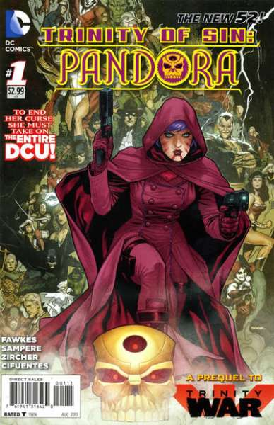 Trinity of Sin: Pandora #1 Comic Books - Covers, Scans, Photos  in Trinity of Sin: Pandora Comic Books - Covers, Scans, Gallery