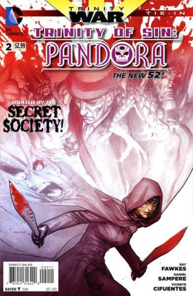 Trinity of Sin: Pandora #2 Comic Books - Covers, Scans, Photos  in Trinity of Sin: Pandora Comic Books - Covers, Scans, Gallery