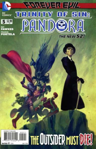 Trinity of Sin: Pandora #5 comic books - cover scans photos Trinity of Sin: Pandora #5 comic books - covers, picture gallery