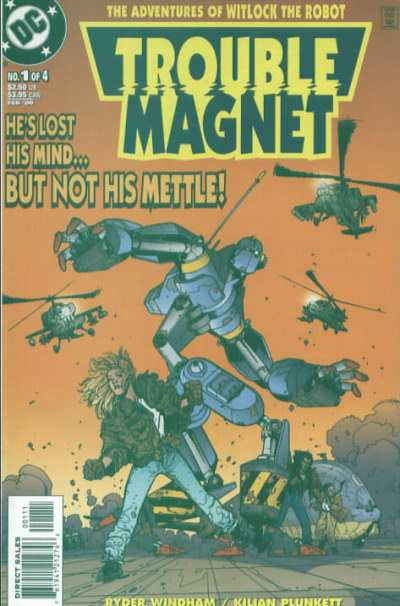 Trouble Magnet comic books