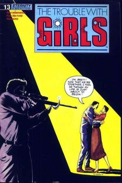Trouble with Girls #13 comic books for sale