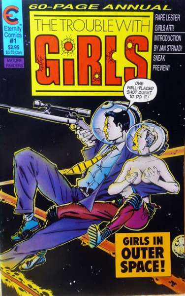 Trouble with Girls #1 comic books - cover scans photos Trouble with Girls #1 comic books - covers, picture gallery