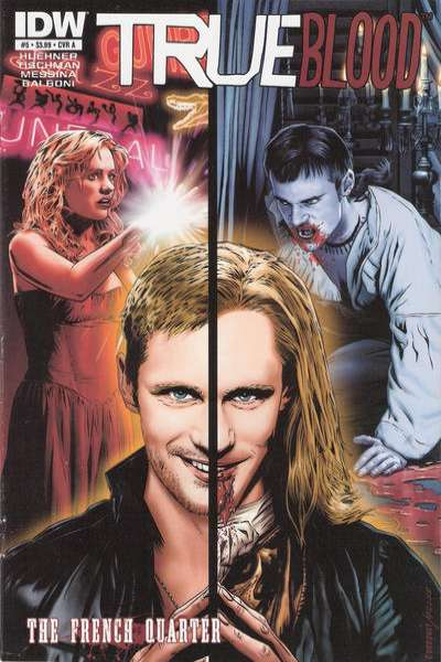 True Blood: French Quarter #5 comic books for sale