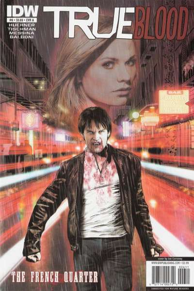True Blood: French Quarter #6 comic books for sale