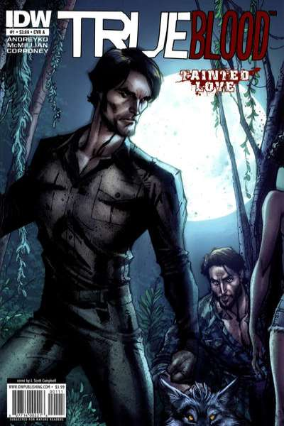 True Blood: Tainted Love #1 comic books - cover scans photos True Blood: Tainted Love #1 comic books - covers, picture gallery
