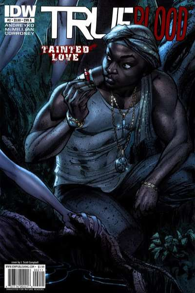 True Blood: Tainted Love #2 comic books - cover scans photos True Blood: Tainted Love #2 comic books - covers, picture gallery