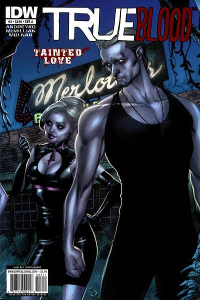 True Blood: Tainted Love #3 comic books - cover scans photos True Blood: Tainted Love #3 comic books - covers, picture gallery
