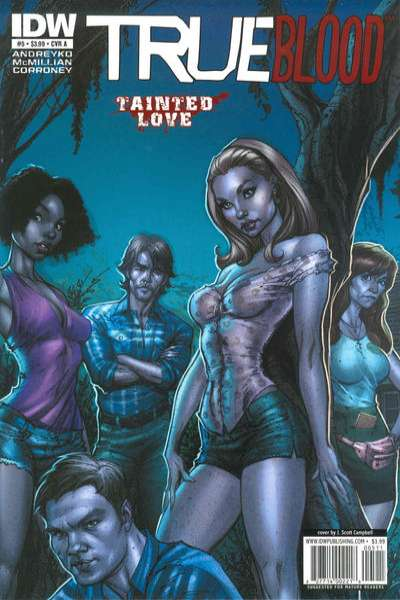 True Blood: Tainted Love #5 comic books for sale