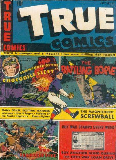 True Comics #37 comic books for sale