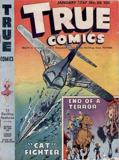 True Comics #56 comic books for sale