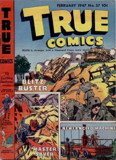 True Comics #57 comic books for sale