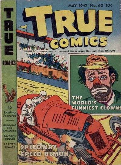 True Comics #60 comic books for sale