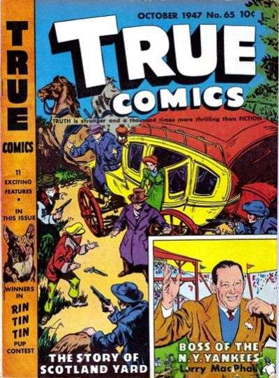 True Comics #65 comic books for sale