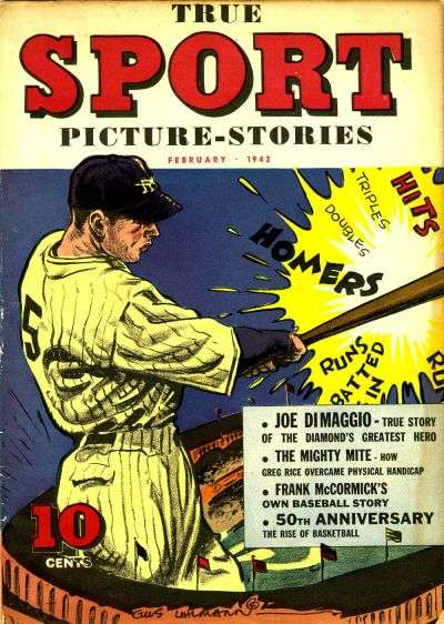 True Sport Picture Stories comic books
