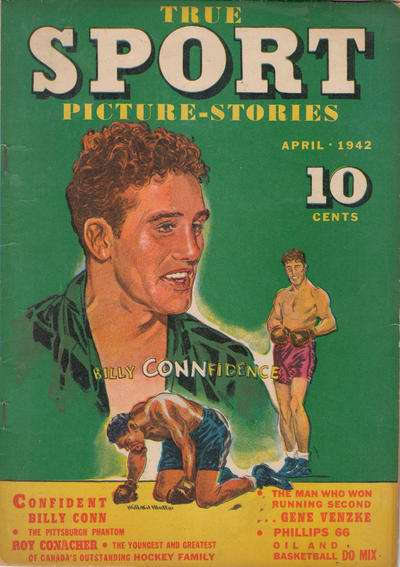 True Sport Picture Stories #6 comic books for sale