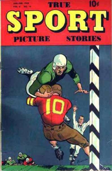 True Sport Picture Stories: Volume 4 #11 comic books for sale