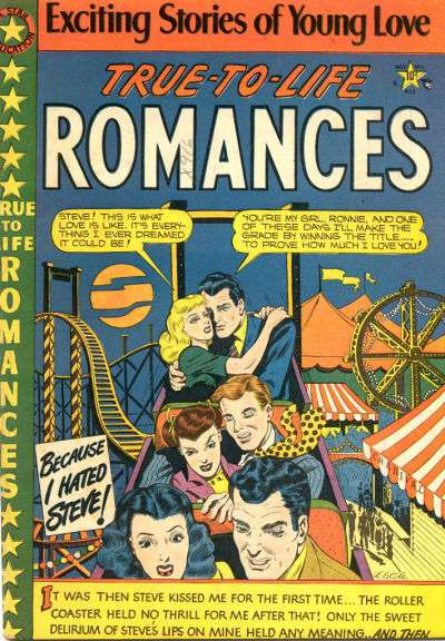 True-to-Life Romance Comic Books. True-to-Life Romance Comics.