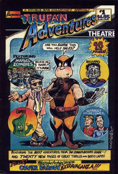 Trufan Adventures Theatre comic books