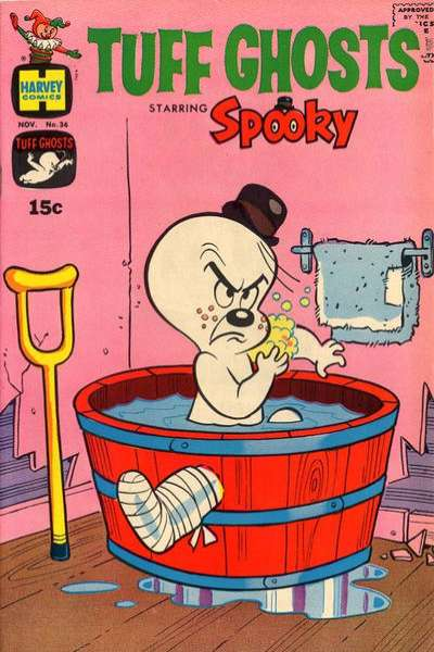 Tuff Ghosts Starring Spooky #36 comic books for sale