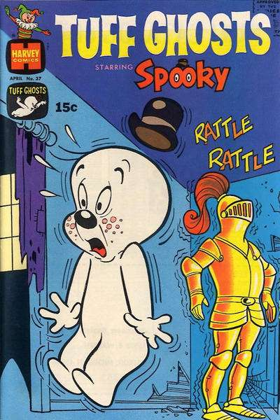 Tuff Ghosts Starring Spooky #37 Comic Books - Covers, Scans, Photos  in Tuff Ghosts Starring Spooky Comic Books - Covers, Scans, Gallery