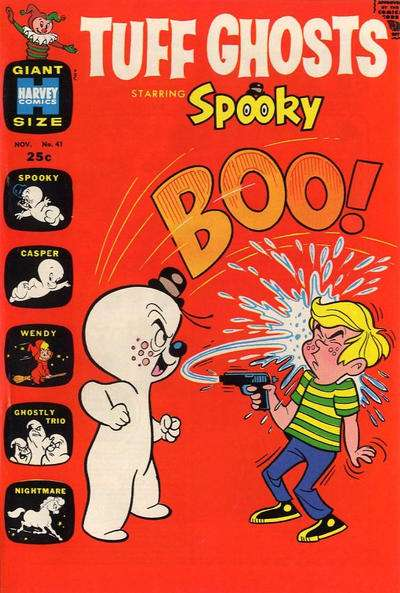 Tuff Ghosts Starring Spooky #41 Comic Books - Covers, Scans, Photos  in Tuff Ghosts Starring Spooky Comic Books - Covers, Scans, Gallery