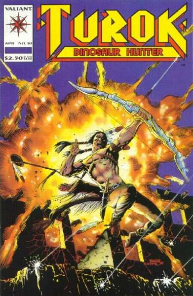 Turok: Dinosaur Hunter #10 comic books for sale