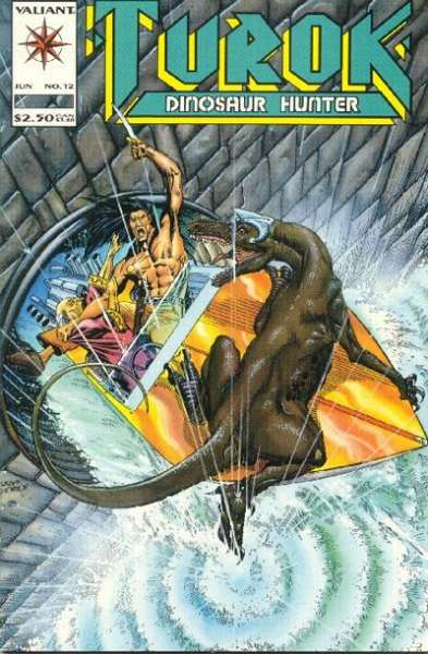 Turok: Dinosaur Hunter #12 Comic Books - Covers, Scans, Photos  in Turok: Dinosaur Hunter Comic Books - Covers, Scans, Gallery