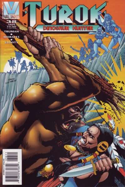 Turok: Dinosaur Hunter #38 comic books for sale