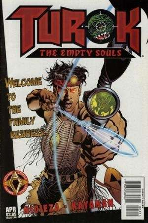 Turok: The Empty Souls #1 comic books - cover scans photos Turok: The Empty Souls #1 comic books - covers, picture gallery
