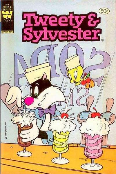 Tweety and Sylvester #109 comic books - cover scans photos Tweety and Sylvester #109 comic books - covers, picture gallery