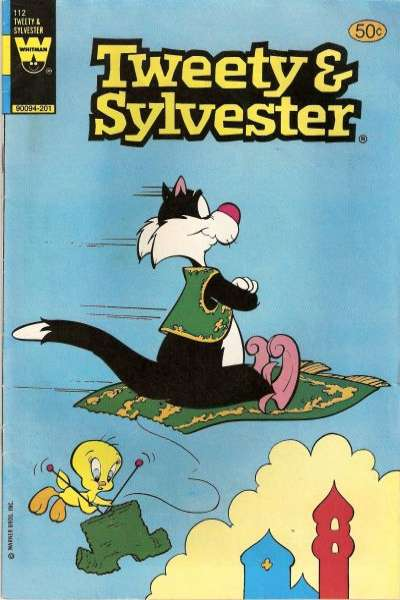 Tweety and Sylvester #112 comic books for sale