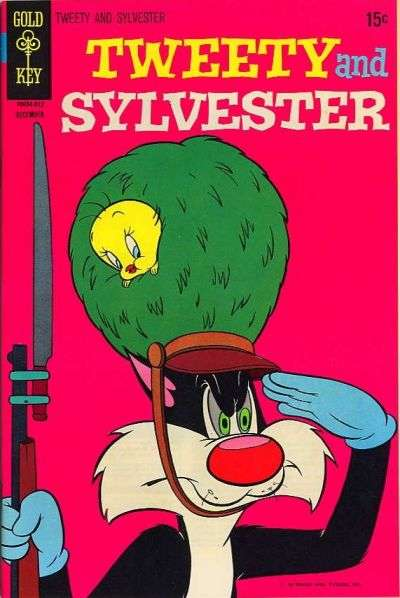 Tweety and Sylvester #16 comic books - cover scans photos Tweety and Sylvester #16 comic books - covers, picture gallery