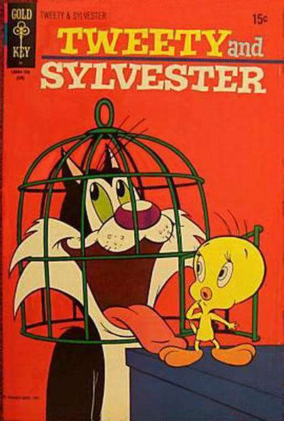 Tweety and Sylvester #18 comic books for sale