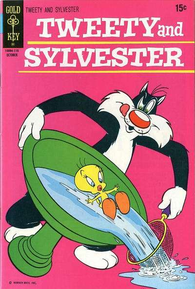 Tweety and Sylvester #20 comic books for sale
