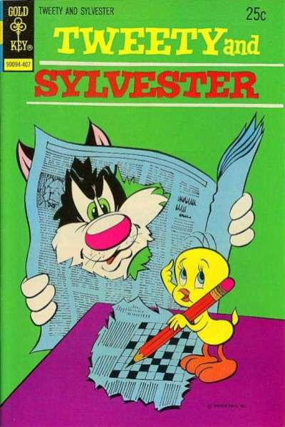 Tweety and Sylvester #38 cheap bargain discounted comic books Tweety and Sylvester #38 comic books