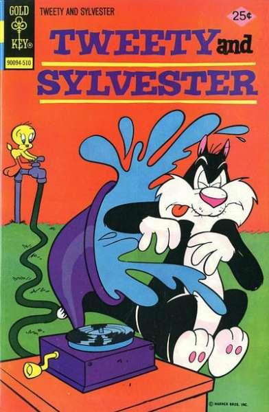 Tweety and Sylvester #50 Comic Books - Covers, Scans, Photos  in Tweety and Sylvester Comic Books - Covers, Scans, Gallery
