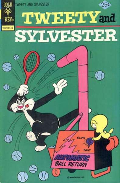 Tweety and Sylvester #51 Comic Books - Covers, Scans, Photos  in Tweety and Sylvester Comic Books - Covers, Scans, Gallery