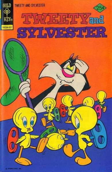 Tweety and Sylvester #59 Comic Books - Covers, Scans, Photos  in Tweety and Sylvester Comic Books - Covers, Scans, Gallery