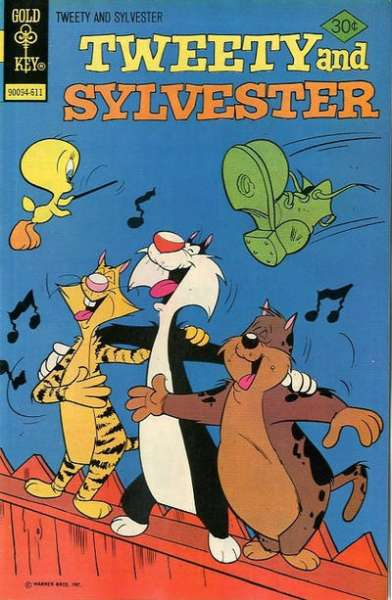 Tweety and Sylvester #63 comic books for sale