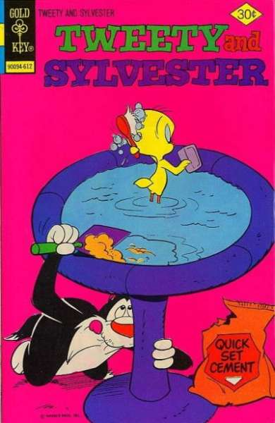 Tweety and Sylvester #64 comic books for sale