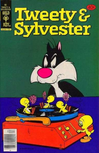 Tweety and Sylvester #92 comic books - cover scans photos Tweety and Sylvester #92 comic books - covers, picture gallery