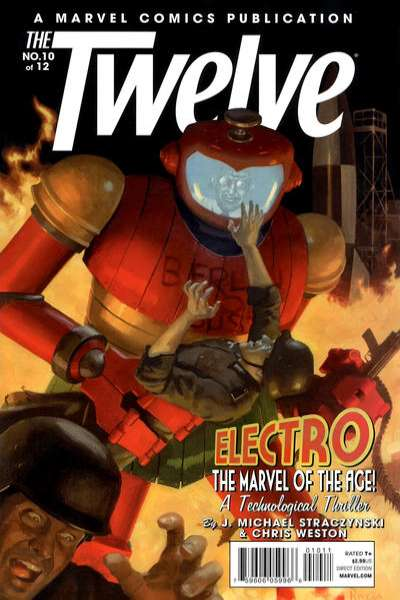 Twelve #10 Comic Books - Covers, Scans, Photos  in Twelve Comic Books - Covers, Scans, Gallery