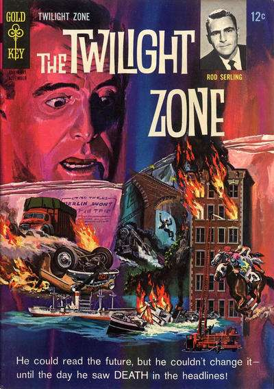 Twilight Zone #13 comic books for sale