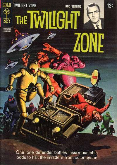 Twilight Zone #14 comic books - cover scans photos Twilight Zone #14 comic books - covers, picture gallery